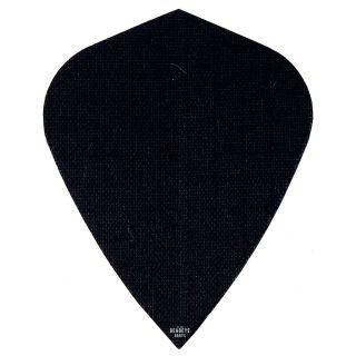 Deadeye Rip Stop Fabric Dart Flights - Kite - Black - F1342