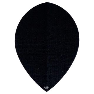 Deadeye Rip Stop Fabric Dart Flights - Pear - Black - F1343