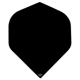 Deadeye Rip Stop Fabric Dart Flights - Standard - Black - F1355