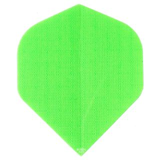Deadeye Rip Stop Fabric Dart Flights - Standard - Green - F1357
