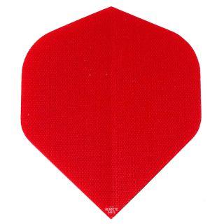 Deadeye Rip Stop Fabric Dart Flights - Standard - Red - F1361