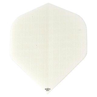 Deadeye Rip Stop Fabric Dart Flights - Standard - White - F1362