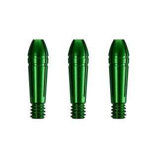 Mission Titan Fox Aluminium Spare Tops - for Titanium Shafts - Replacement Tops - Green - S0645