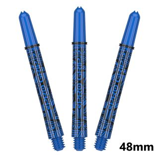 Target Pro Grip Ink Blue Medium Dart Shafts  - 48mm