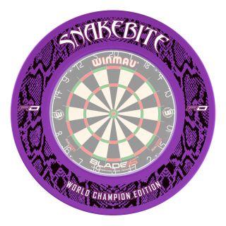 Peter Wright Snakebite World Champion Edition Surround - Purple - SUR020