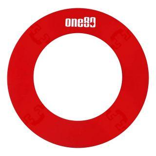 ONE80 EVA Knock Down Red Dartboard Surround