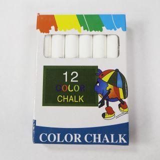 Chalk - White - 12 Pieces - X0079
