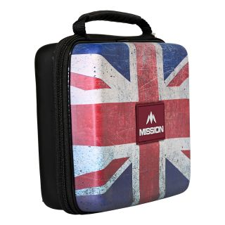 Mission Freedom Luxor Darts Case - Strong Protection - Extra Large - Union Jack - X0123