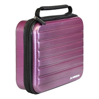Mission ABS-4 Darts Case - Strong Protection - Extra Large - Metallic Purple - X0126