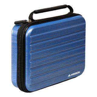 Mission ABS-4 Darts Case - Strong Protection - Extra Large - Metallic Aqua - X0129