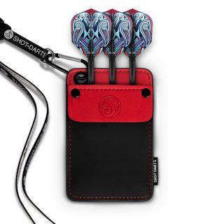 Shot Dexter Dart Wallet-Red Trim - X0159