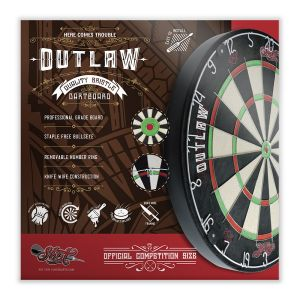 Shot Outlaw Bristle Dartboard