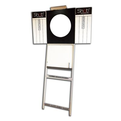 Nomad Portable Dartboard Stand with Dartboard plus Optional Accessories