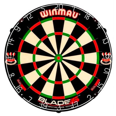 Winmau Blade 5 Dual Core with Winmau Surround plus Optional Accessories