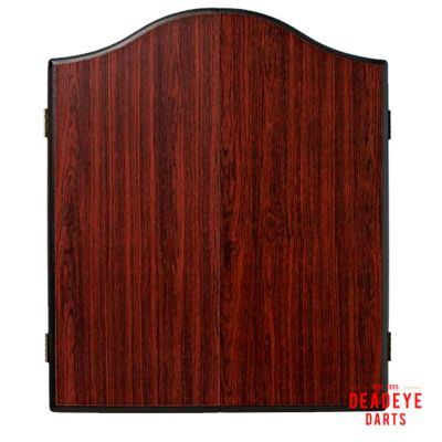 Winmau Rosewood Cabinet with Dartboard plus Optional Accessories